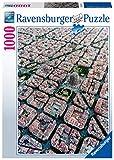 Ravensburger Puzzle, Puzzle 1000 Piezas, Vista aérea de Barcelona, Puzzles para Adultos, Puzzle Sagrada Familia, Rompecabezas Ravensburger de Alta Calidad