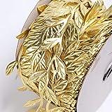 KTUCN Washi Tape Rollos - 100 Metros/Rollo de Papel de Regalo Impreso Arcos de la Cinta de la Cinta de Oro para la Fiesta casera Decorativa Hecha a Mano DIYCinta de la Hoja del árbol para manu