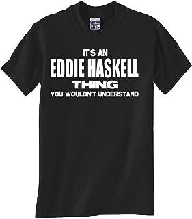 STUFF WITH ATTITUDE Eddie Haskell Thing Black T Shirt