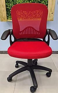 Silla Oficina Escritorio RQ80012 roja