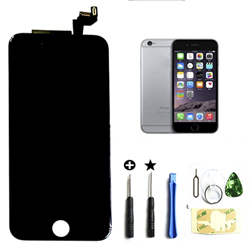 5040fcb322b Black iphone 6s 4.7 inch Retina LCD Touch Screen Digitizer Glass  Replacement Full Assembly with repair