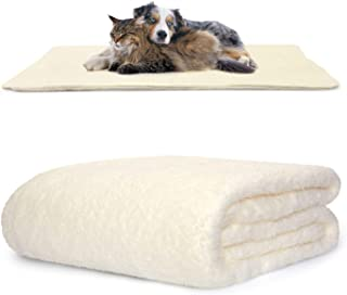 Snug Rug Pet Blankets - Fluffy Sherpa Fleece Blanket Soft and Warm Dogs and Cats Washable Throw for Car Sofa Bed (Large 12...