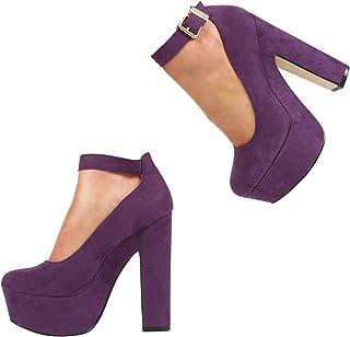 416caf87c920e Amazon.co.uk: Purple - Court Shoes / Women's Shoes: Shoes & Bags