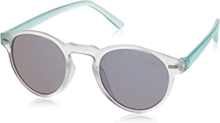 Sudo Kids Girl's Boh Round Sunglasses, Frost, 42 mm