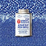 PRO Vinyl Pool Liner Patch Kit - Repair kit with 2'x2' Vinyl and Adhesive (Glimmer)