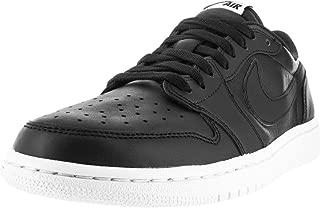 Jordan Mens Air Jordan 1 Retro Low Og Black/White Basketball Shoe 13 Men US