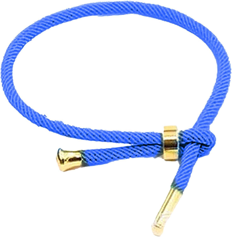 3mm Unisex Titanium Steel Braided Rope Lucky Bracelet Bangle DIY Jewelry Gift for Women Men Girls Boys