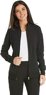 iflex Women's Zip Front Warm-Up Scrub Jacket