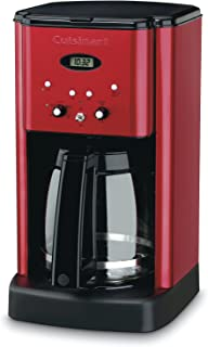 Cuisinart DCC-1200MR 12 Cup Brew Central Coffee Maker, Metallic Red