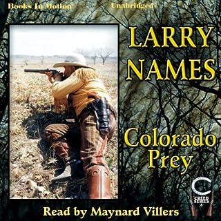 Colorado Prey audiobook cover art