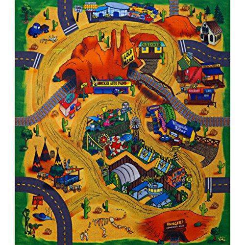 Unbekannt Tapis de Jeu Motif Desert 70 x 80 cm