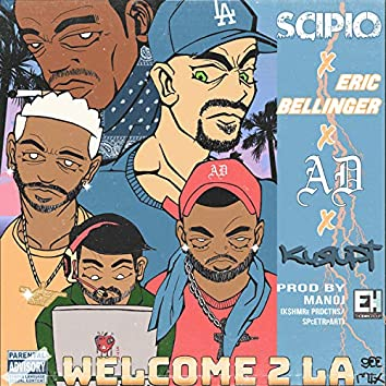 Welcome 2 LA (GEE Remix) [feat. AD & Eric Bellinger]