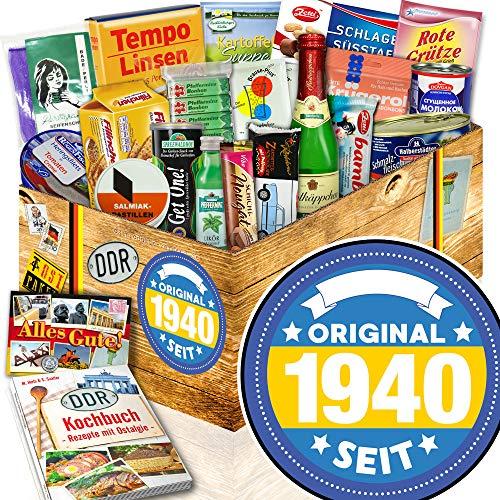 Original seit 1940 / Idee Geschenk zum 80. / Ostalgie Box Spezialitäten