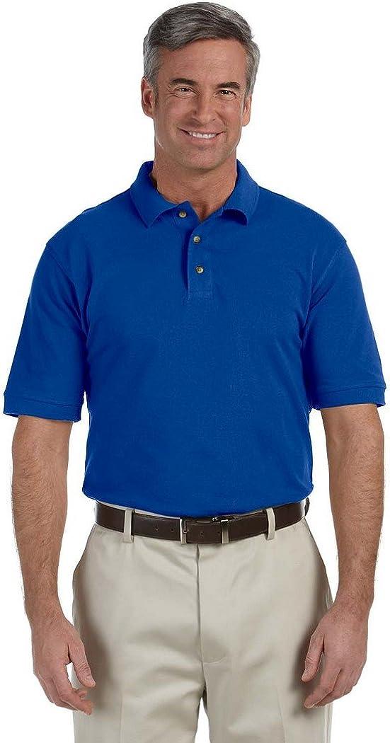 Harriton Tall 6 oz. Ringspun Cotton Pique Short-Sleeve Polo (M200T)