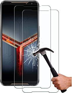 XINKOE [2-Pack] Screen Protector for Asus ROG Phone 2, Ultra slim HD 2.5D Pro-Fit Premium Tempered Glass Screen Protector