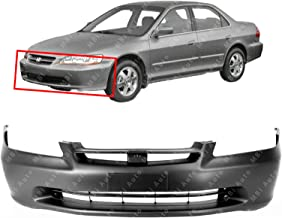 MBI AUTO - Primered, Front Bumper Cover Fascia for 1998 1999 2000 Honda Accord Sedan 98 99 00, HO1000178