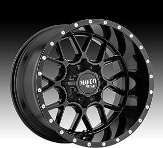 MOTO METAL MO986 SIEGE Gloss Black Wheel (20 x 12. inches /8 x 125 mm, -44 mm Offset)