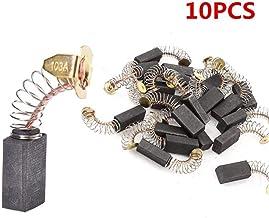 10pcs escobillas de Carbono Piezas de Repuesto Mini Taladro eléctrico Amoladora reemplazo para 6.5x7.5x13.5mm Herramienta Rotatoria de Motores eléctricos