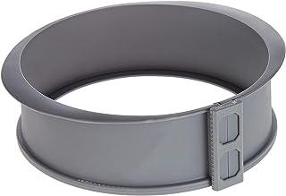 Harmony 2724623276434 Silicon Cake Pan With Glass Base, Grey