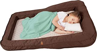 Leachco BumpZZZ Travel Bed, Brown with Moroccan Sand Sheet
