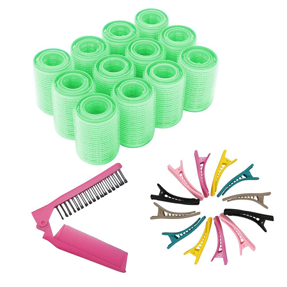 Jumbo Size Self Grip Hair Set H Curlers Rollers Max Max 48% OFF 73% OFF