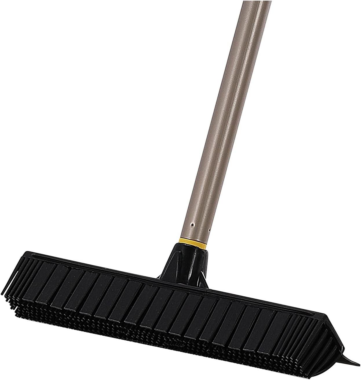 Max 69% OFF Ranking TOP8 Telescopic Broom Rubber Bristles Carpet With Adjus Brush 53 Inch