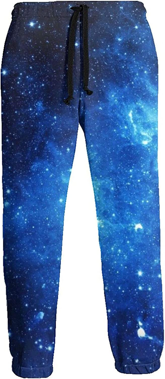 Men's Women's Sweatpants Sprinkle Blue Sky Athletic Running Pants Workout Jogger Sports Pant
