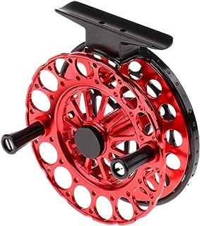 Perfeclan Ice Fishing Reel Saltwater Freshwater Fly Reels Fishing Vessel Wheel, 2 Size
