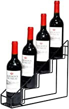 Wine Rack Wine Racks Metal Free-Standing Stackable Iron Art Wine Holder for Bar Basement Pantry Kitchen Storage Stand - St...