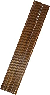 24pcs Bamboo Arrow Shafts with Self-nock 33