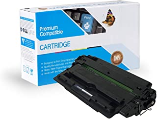 Ink Now Compatible Toner Replacement for HP Q7516A, Works with: Laserjet 5200, 5200DTN, 5200TN (Black)