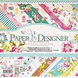 Gnognauq 40Pcs Multi-Colored Designer Paper Decorative Craft Paper for Creative Scrapbooking and...