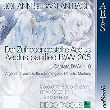 "Cantata ""Aeolus pacified"" BWV 205 & Cantata BWV 110"