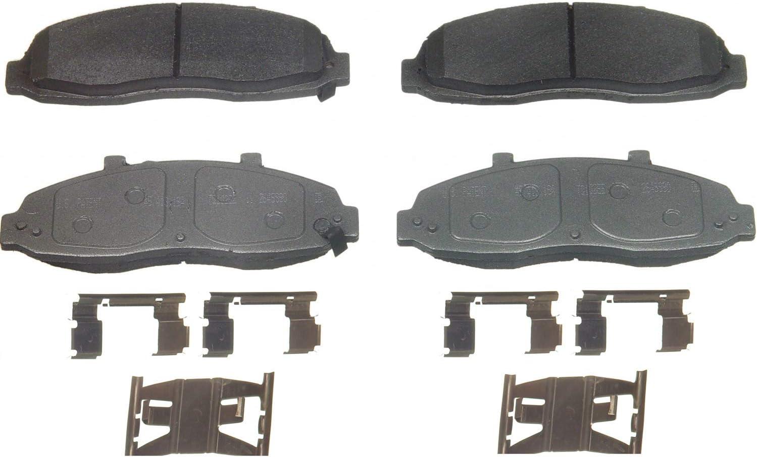Max 44% OFF Wagner ThermoQuiet MX679 Semi-Metallic Brake Set Popular standard Disc Pad