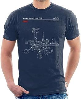 Nasa Mars Exploration Rover Schematic Men's T-Shirt