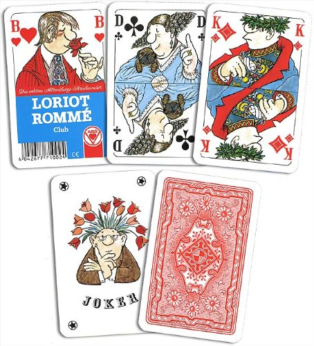 Kartenspiele, Romme, Loriot der ASS Altenburger Spielkartenfabrik