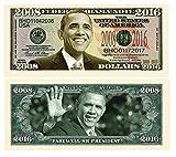 American Art Classics Set of 100 - Barack Obama 2008-2016 Commemorative Dollar Bill