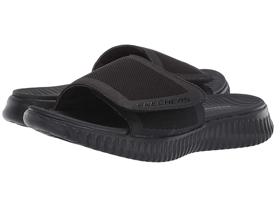 SKECHERS Elite Flex Shore Ridge (Black/Black) Men