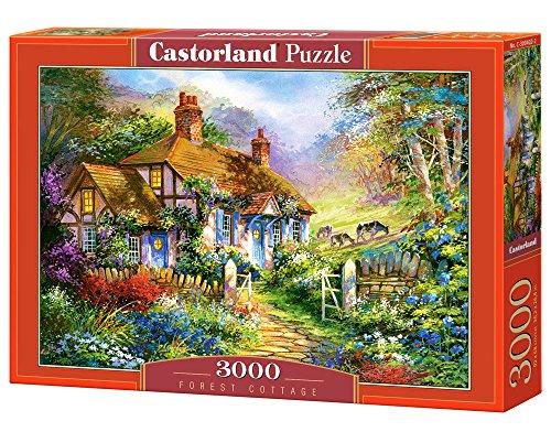 Castorland C-300402 - Foresta Cottage Condividere Puzzle 3000 Pezzi