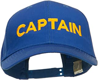 e4Hats.com Captain Embroidered Cap