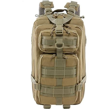 LHI Sac /à dos tactique militaire pour homme et femme 45 l Army 3 jours Sac /à dos Grand sac /à dos avec syst/ème Molle