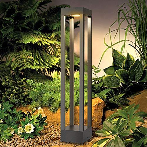 LEDMO LED Wegeleuchten Außen 9W LED Gartenlampe 3000K 1000LM Standleuchte Aussen Pollerleuchte 60CM IP65,Aussenleuchte Gartenleuchte Geeignet für Innenhöfe,Gärten,Gänge usw.