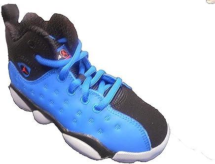 size 40 2d4bf b1f9a Jordan Jumpman Team II Premium Blue Spark Total Crimson-Black (Little Kid)