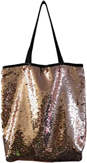 Pengy Women Reversible Sequin Backpack Glittering Dance Bag,School Bag,Outdoor Sports for Girls