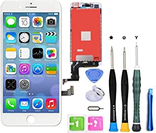 Premium Screen Replacement Compatible with iPhone 7 Plus 5.5 inch Full Assembly -LCD Touch Digitizer Display Glass Assembl...