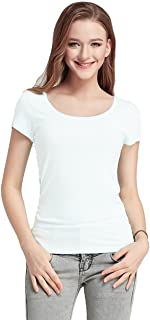 FASHION LINE White Women's Short-Sleeve T-Shirt