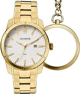 b7d0a12fe4 Relógio Masculino Technos Analógico GM10YE 4B Dourado