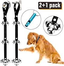 BLUETREE Doorbells Dog Premium آموزش کیفیت عالی ، زنگ مخصوص سگ بزرگ قابل تنظیم ، زنگ مخصوص سگ قابل تنظیم در مورد توله سگ توله سگ شما آسان است - کیفیت عالی - 7 بلوتوث فوق العاده بزرگ 1.4 DoorBells