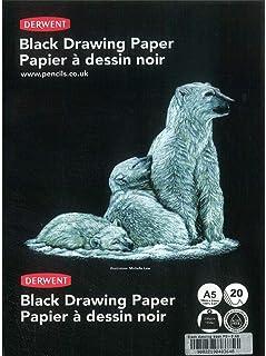 ورق رسم أسود مقاس أ 5