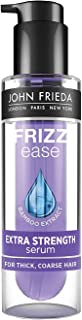 JOHN FRIEDA Frizz Ease Extra strength 6 Effects Plus Serum 50ml - Instantly eliminate chronic frizz. Repel humidity for glossy, silky-smooth style
